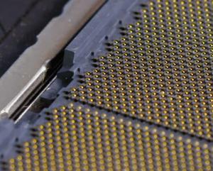 Dino-lite Pro on CPU Socket Pin Inspect